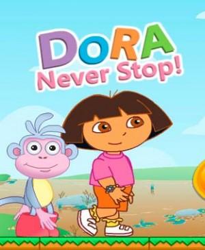 Dora nunca para