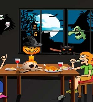 Decora comedor para Halloween
