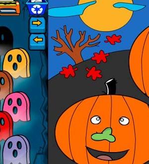 Colorea Halloween
