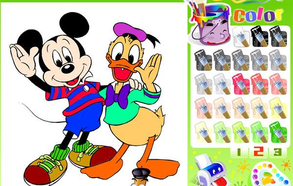 Dibujos Para Colorear De Todos Los Personajes De Disney: Personajes Disney ⋆ Juegas Peque Juegas Peque