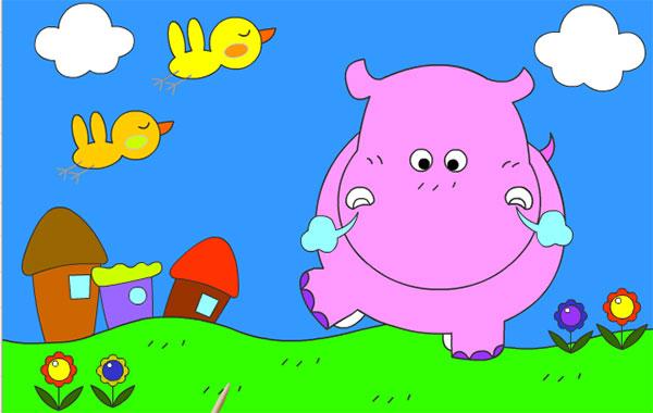 Hipopótamo Juegas Peque Juegas Peque