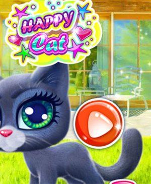 juego gatito feliz